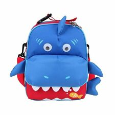 3-Ways Kids Lunch Boxes Carry Bag and Preshool Toddler Backpack, FDA-approved