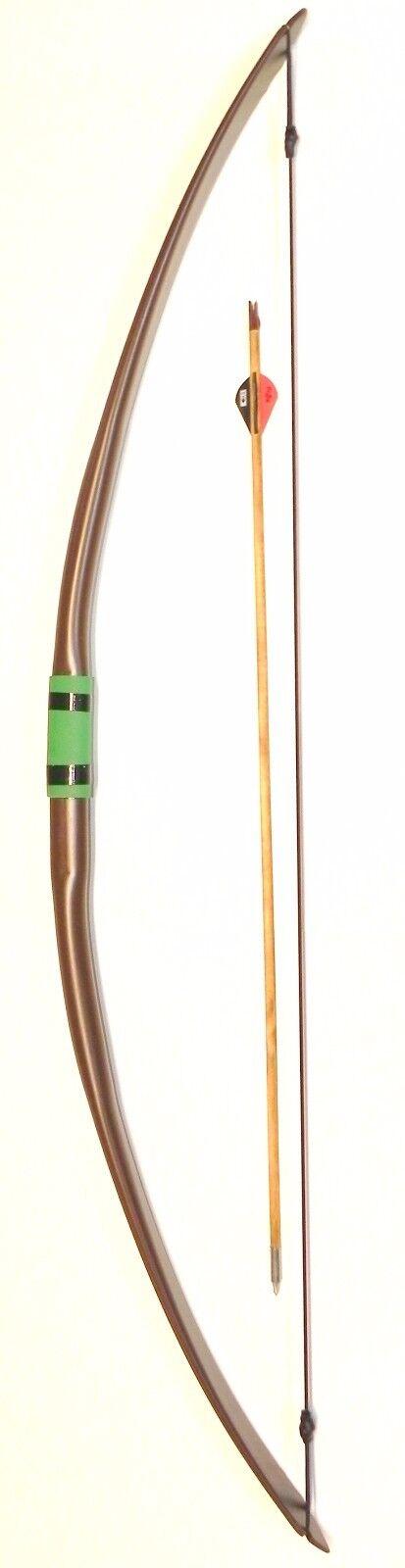 Arco de tiro con arco,  la tortuga escozor  51in-30+lb arco largo, Envío Gratis