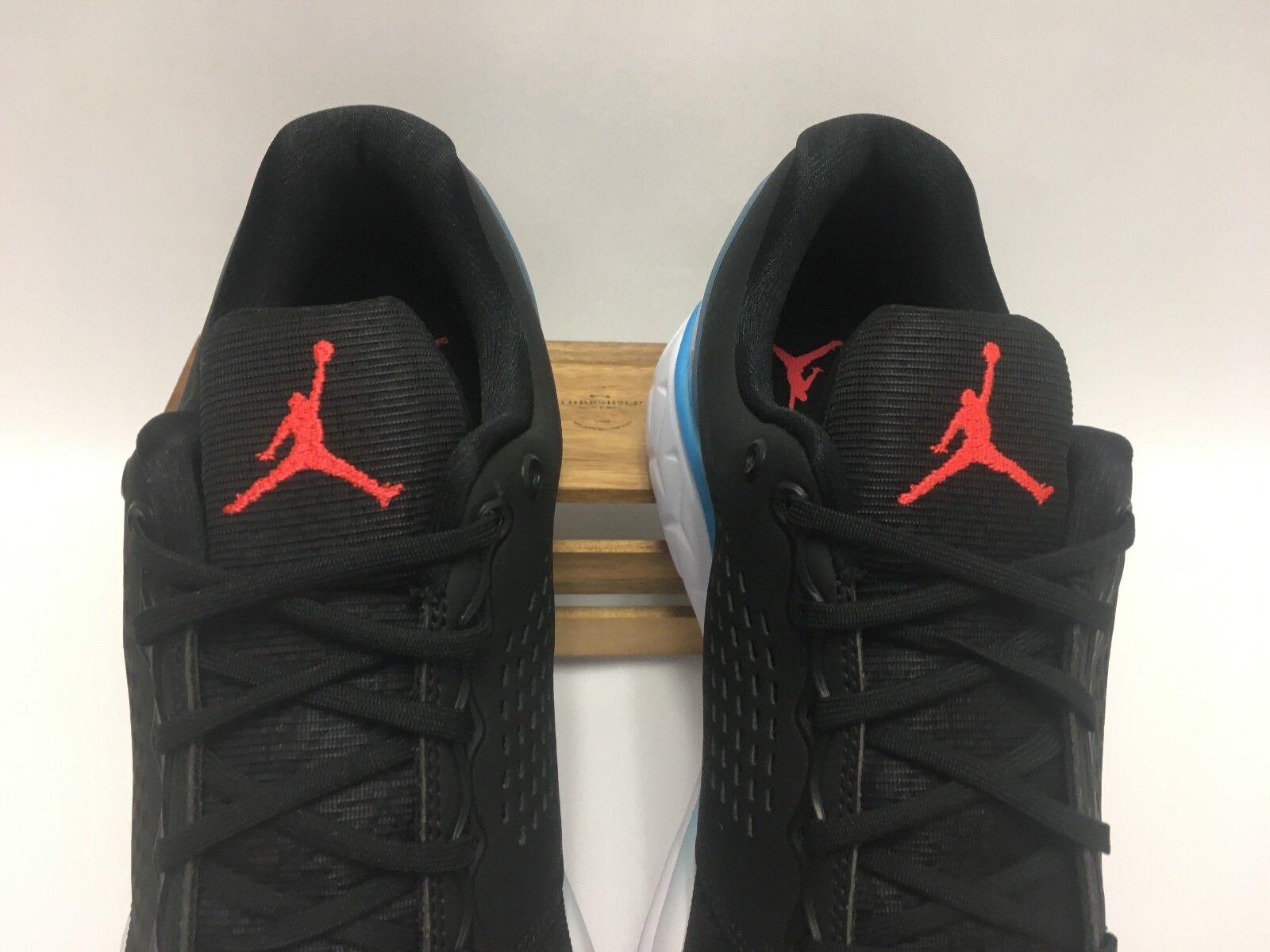 new concept fb955 a78c5 ... Nike Air Jordan Trainer ST Premium Shoes Shoes Shoes Black Red Blue  843732-008 Men s ...