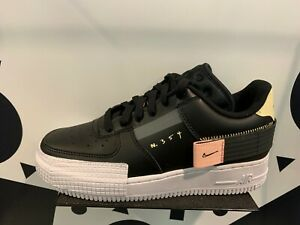 Details about Nike AF1 Air Force One 1 Low Type Black White Men Kids Women  Sz 4Y-13 CI0054-001