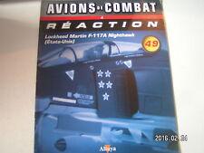 ** Fascicule Avions de combat à réaction n°49 Lockheed Martin F-117A Nighthawk