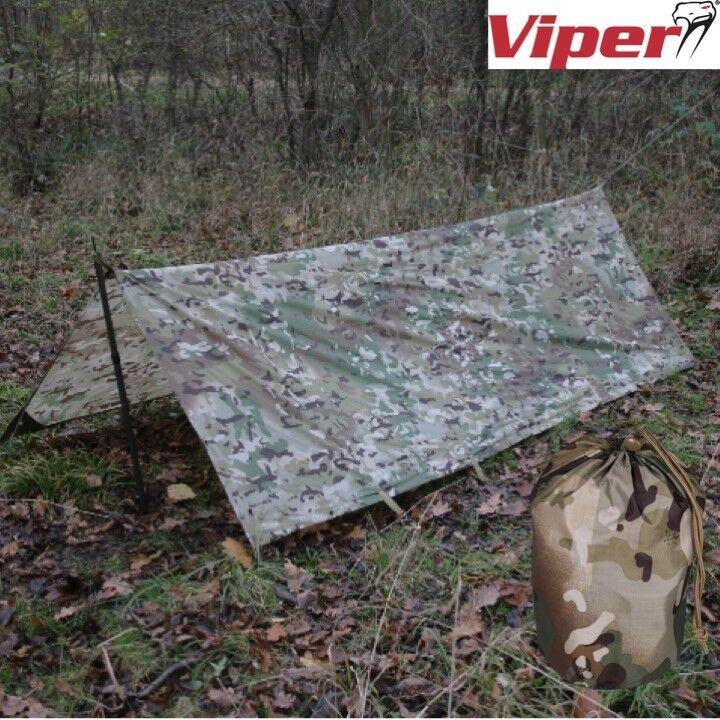 Viper Basha Wasserfest Schutz Armee Plane Laken Zelt Wild Zelten Biwak Mtp Vcam