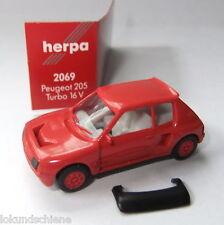 Peugeot 205 Turbo 16 V  Herpa  1:87 ..#218