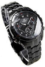 Casio EF-535BK-1AV Edifice Chronograph Carbon Fiber Dial Men's Watch