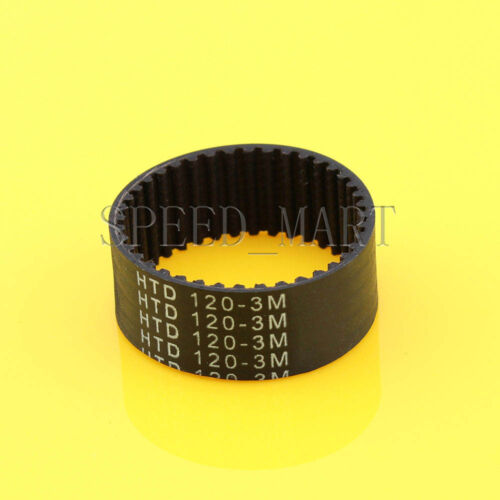 120-3M HTD 3mm Timing Belt 40 Tooth Cogged Rubber Geared 15mm Wide CNC Drives