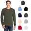 American-Apparel-2007W-Mens-Fine-Jersey-Long-Sleeve-T-Shirt-Ring-Spun-Cotton-Tee thumbnail 1