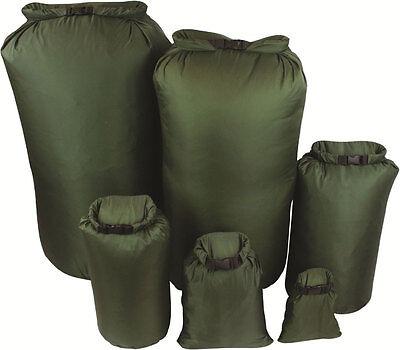 New GREEN Military Bergen / Daysack 100% Waterproof DRY BAG Sack Canoe Kayak
