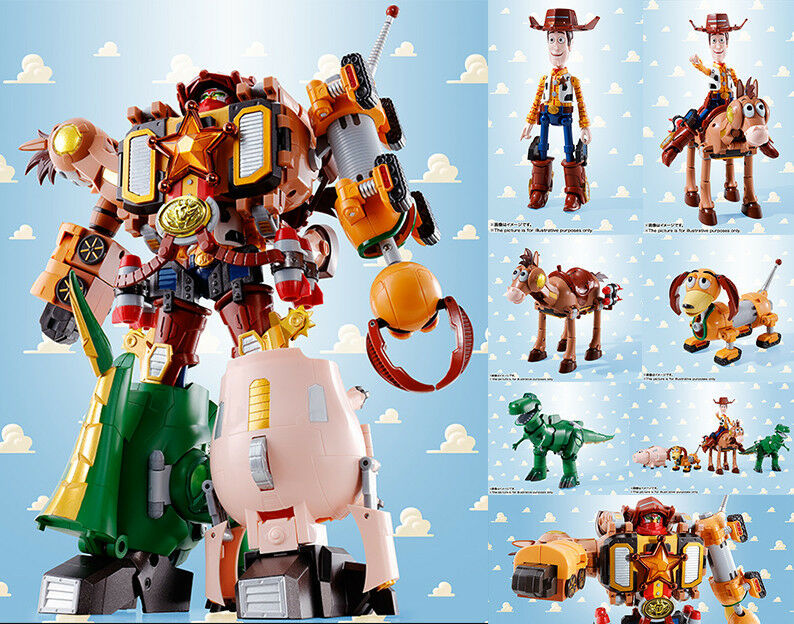 TAMASHII NATIONS-Chogokin juguete historia Woody robo Sheriff Combination Star