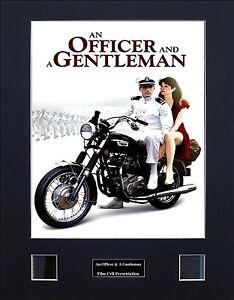An Officer & A Gentleman Photo Film Cell Presentation