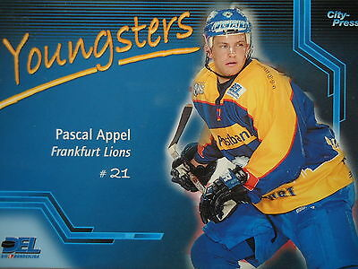066 Youngsters Pascal Appel Frankfurt Lions Del 2002-03-mostra Il Titolo Originale