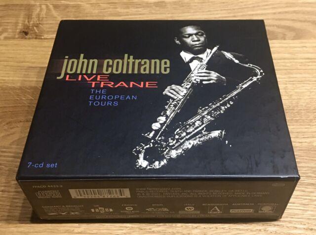 The European Tour von John Coltrane Box Live Train 7 CD neuwertig Jazz
