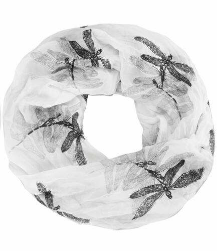 Libelle caripe leichter Sommer Schlauchschal Rundschal Damen Loop Schal
