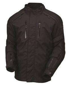 ROLAND SANDS DESIGNS Sentinel Textile Motorcycle Jacket Anthracite Men's