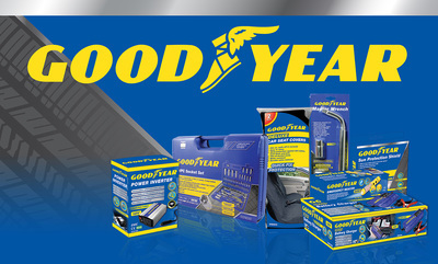 10% off Goodyear Car accessories
