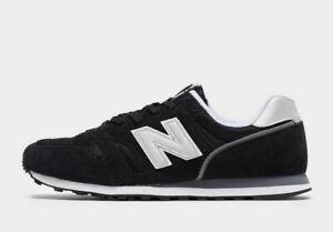 NEW-Balance-373-Nero-E-Bianco-Men-039-S-TRAINER-Scarpe-da-ginnastica-Regno-Unito-misura-6-12-5