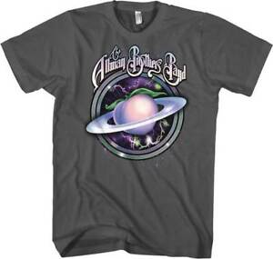 Allman Brothers Band Space Peach Mens Graphic T-shirt