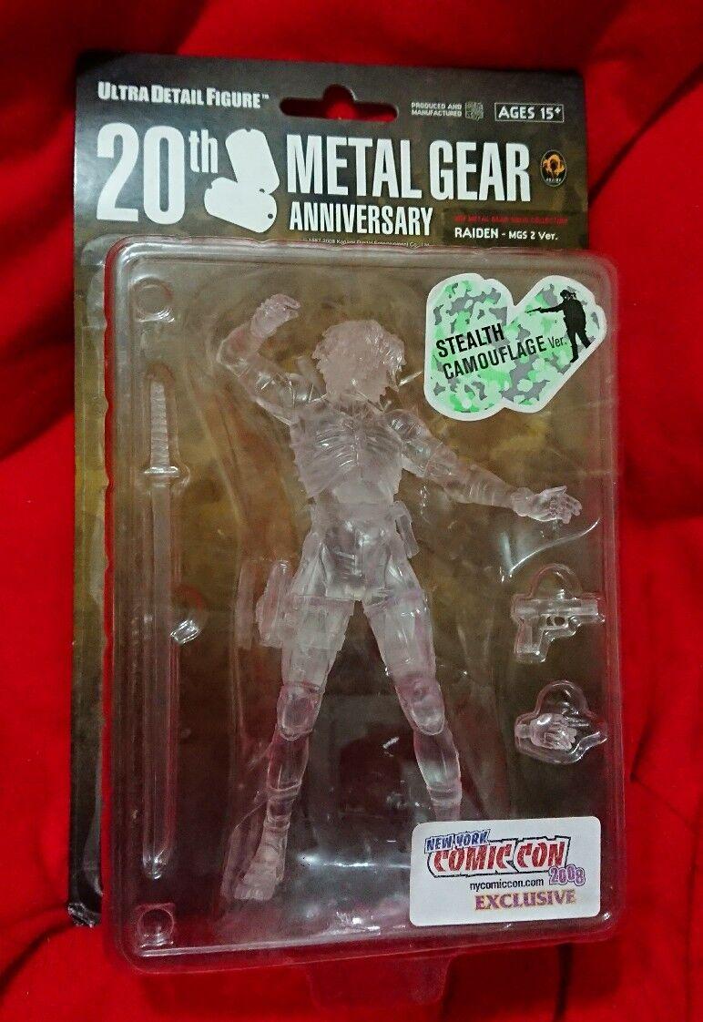 Metal Gear Solid UDF Ultra Detail Figure Series 1 Raiden Stealth Camo Comic Con