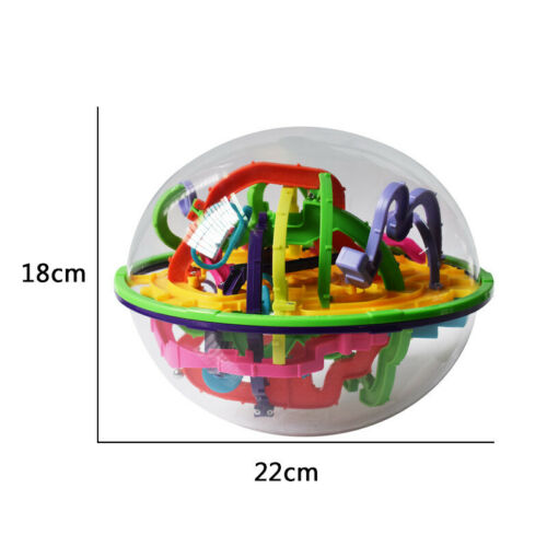 299 Levels Labyrinth Puzzle Ball 3D Maze Intellect Magic Cube Children Toys Gift