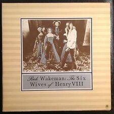 Rick Wakeman Six Wives Of Henry The VIII Vinyl LP Original Press Yes Synths Prog