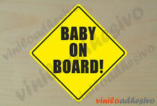 PEGATINA STICKER VINILO Bebe a bordo ref3 Baby on board autocollant aufkleber