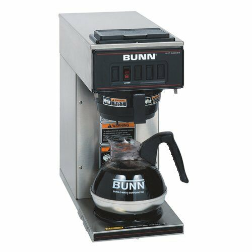 Bunn Commercial Coffee Brewer Warmer Machine Maker Stainless Steel