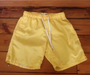 65c545c658 Old Navy Yellow Mens Swim Trunks Board Shorts Swimming Suit M 29 ...