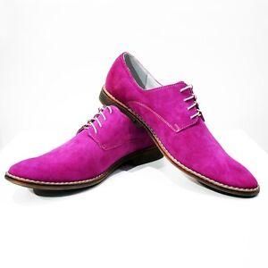 Scarpe In Oxford Pelle Italiana Modello CorsoArtigianale Eleganti Colorati wn08OPXk