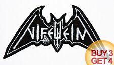 NIFELHEIM W PATCH BUY3GET4,AURA NOIR,DESTROYER 666,SODOM,BLACK THRASH METAL,URN