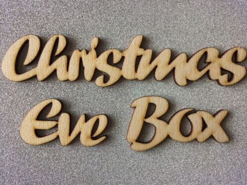 Happy Christmas Merry Christmas Eve Box Words Crafts Shapes Xmas