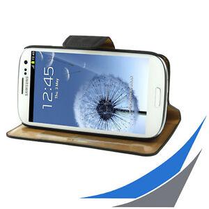 fuer-Galaxy-S3-i9300-Wallet-Book-Style-Tasche-Leder-Schwarz
