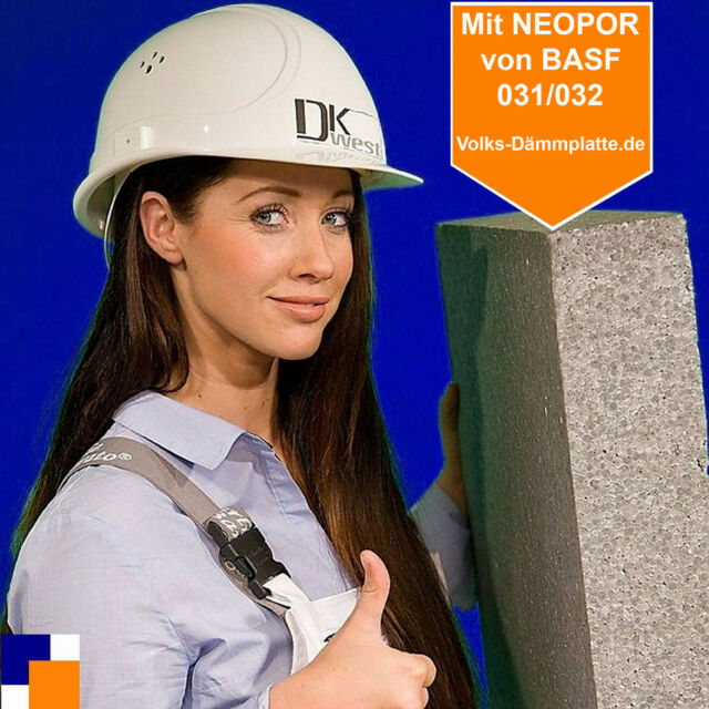 1 qm DÄMM-AKTION  WDVS 60-240 mm 031/032 Fassadendämmung  Schnell + günstig