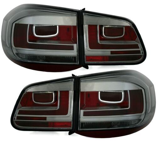 2007-2011 Smoke LED Rückleuchten Facelift Optik für VW Tiguan 5N Bj