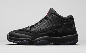 2015 Nike Air Jordan 11 XI Low Retro Bred Referee Size 12. 306008-003 1 2 3 4 5