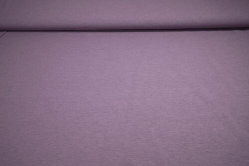 Jersey Black Yarn aubergine Baumwoll Jersey meliert 0,5m
