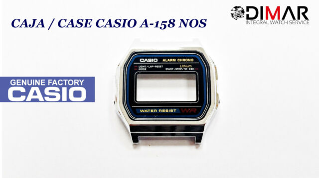 VINTAGE CASE/CAJA  CASIO A-158 NOS