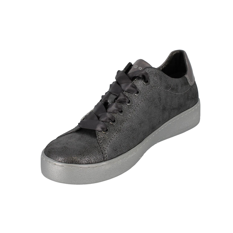Bugatti 432-29108-5950 Fergie-Chaussures femmes chaussures de loisirs - 1190-dk - gris-métal