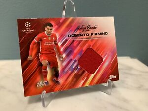 2020 Topps Roberto Firmino O Jogo Bonito Set Patch Relic Shirt Card Soccer