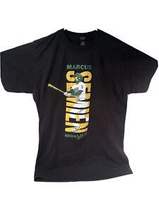 Marcus Semien Athletics Black Youth T-Shirt SGA