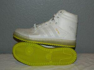 newest 4166e 61eb5 Juniors Adidas Top Ten Hi Yoda Star Wars Shoes B35565 Size 4.5 Glow ...