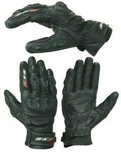 New-KNOX-Motorbike-Motorcycle-GLOVES-Leather-SPS-Armour-Knuckle-Motocross-Biker