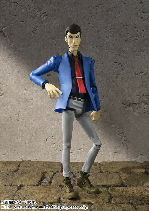 Lupin the Third - Arsene Lupin S.H. Figuarts Action Figure Figure Figure (Bandai) 544c55