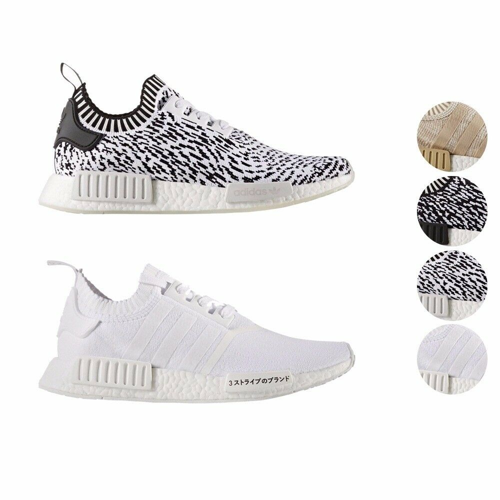 Adidas NMD R1 PK Boost primeknit Boost PK zapatos de los hombres by1911 by1912 by3013 ef4d7d