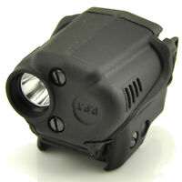 Tactical Pistol Gun 100lm Cree Led Cr2 Flashlight Light 20mm Rail Mount Sight