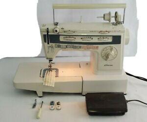 JC-Penney-modele-7057-machine-a-coudre-avec-cordon-controleur-canettes-droite-zigzag