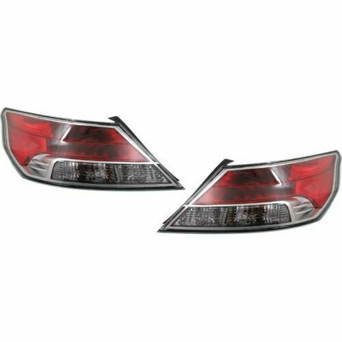 New Depo Driver & Passenger Side Tail Light Set For 2009