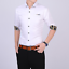 Business-Office-Work-Men-Casual-Stylish-Slim-Fit-Short-Sleeve-Shirt-Tops-Blouse thumbnail 2