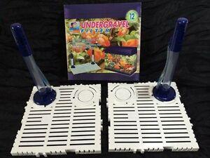 12 In (environ 30.48 Cm) Sous Gravier Filtre Aquarium Fish Tank Tous Les Types D'eau-afficher Le Titre D'origine