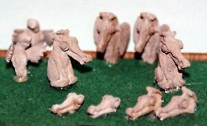 Church-Gargoyles-water-spouts-F292-UNPAINTED-OO-Scale-Langley-Models-Kit-1-76