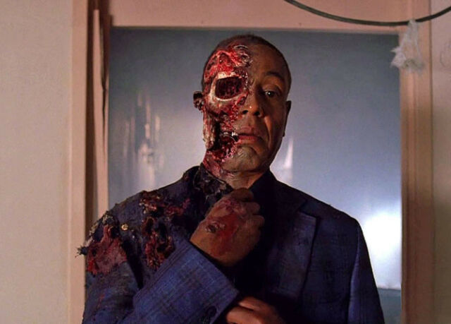 "Breaking Bad Gustavo 'Gus' Fring 11 X 8.5"" Photo Print"