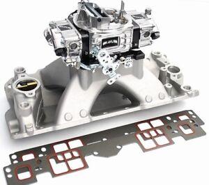 Quick Fuel Brawler 750 CFM Carburetor w/SBC High Rise Intake